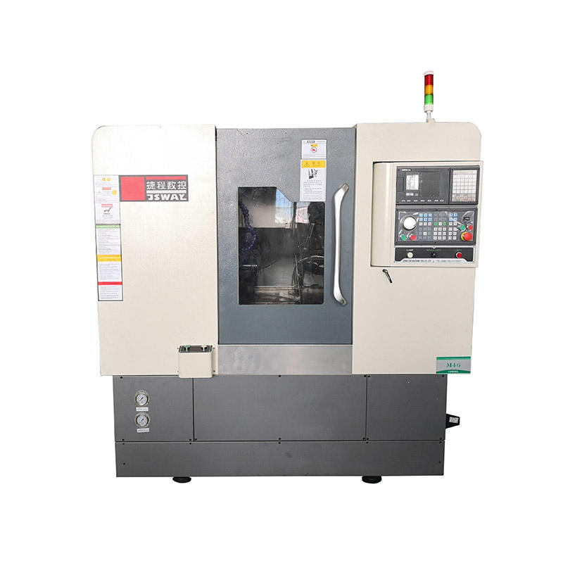 2 axis gang type slant bed CNC lathe machine M46/M56
