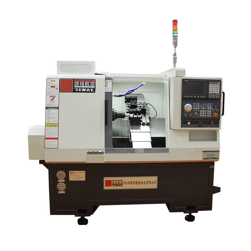 CF36 2 axis gang tool  slant bed CNC lathe machine