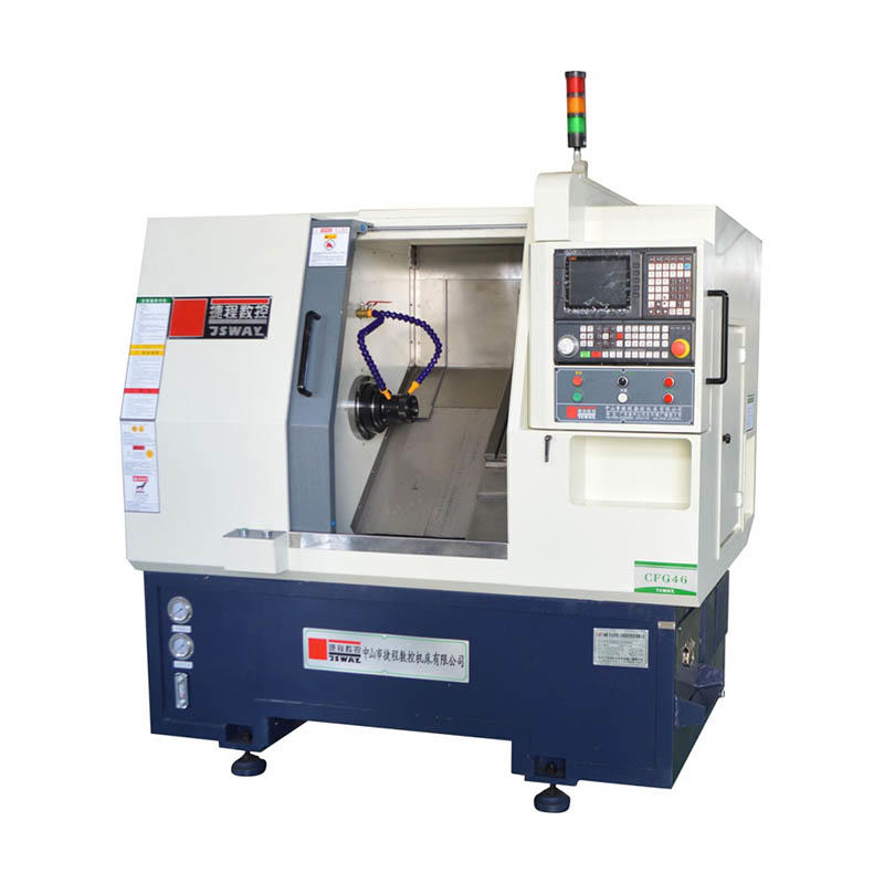 CFG46/CFG56 2 axis gang type slant bed CNC lathe machine