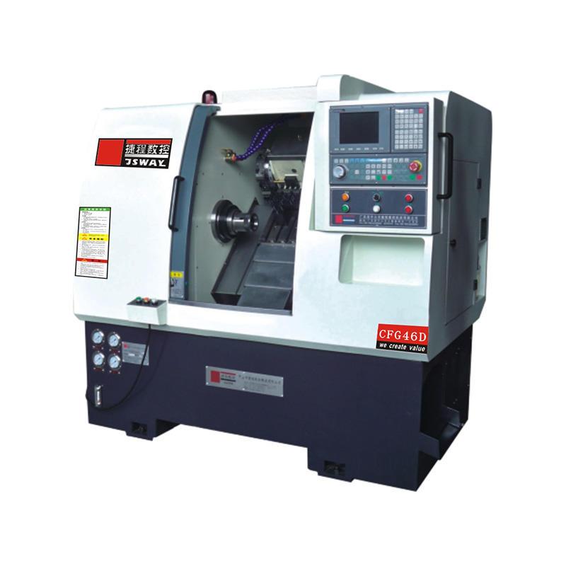 CFG46D/CFG56D 2 axis slant bed turret CNC lathe machine for sale