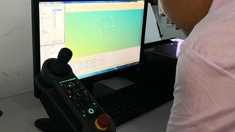 Machine in test-1