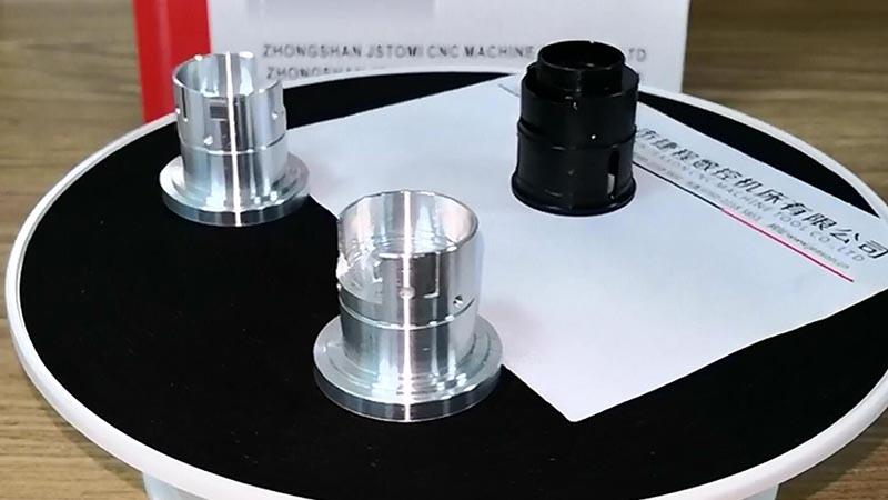 Optical parts sample (lens sleeve) sample process by metal turning center B8D