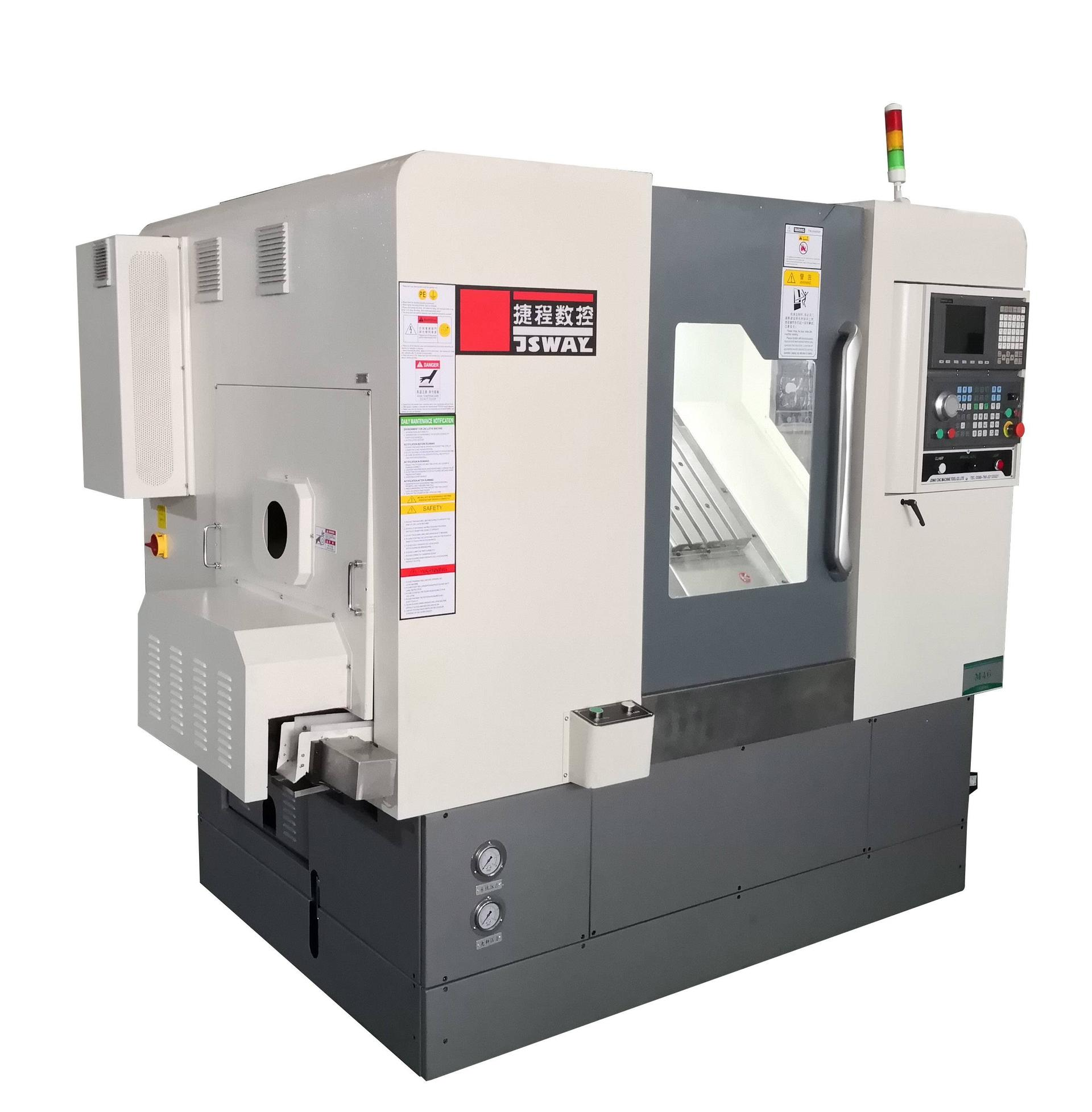 2020 New design 4 Axis Slant Bed turning and milling combine lathe machine  M46X
