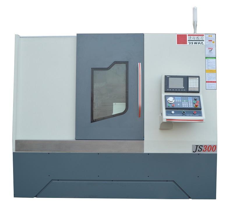 Dual spindle live tool sauter turret BMT55 CNC lathe machine center JS300/JS500