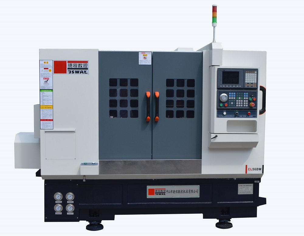 product-JSWAY-CB46DWCB56DWCL46DWCL56DW 2 axis slant bed turret and tailstock CNC lathe machine-img